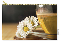 Carry-all Pouch featuring the photograph Chamomile by Traven Milovich