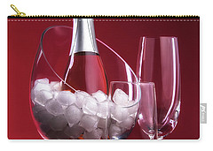 Carry-all Pouch featuring the photograph Champagne For Two by Tom Mc Nemar