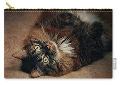 Champagne - My Lazy Main Coon Cat Carry-all Pouch