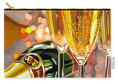Champagne Wishes Carry-all Pouch