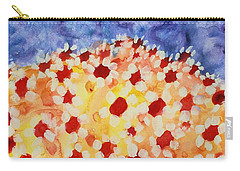 Champs De Marguerites - 01 Carry-all Pouch by Variance Collections
