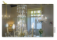 Carry-all Pouch featuring the photograph Chandeliers Transatlantic Company Delegation Cadiz Spain by Pablo Avanzini