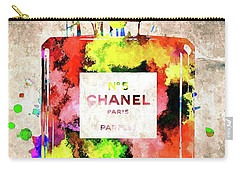 Chanel No 5 Carry-all Pouch by Daniel Janda