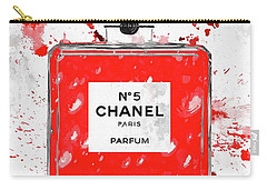 Chanel No 5 Red Carry-all Pouch