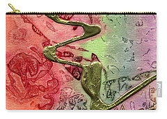 Carry-all Pouch featuring the mixed media Changes by Angela L Walker