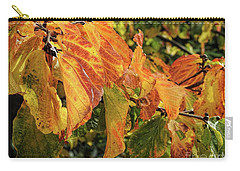 Carry-all Pouch featuring the photograph Changes by Peggy Hughes