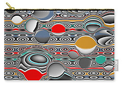 Carry-all Pouch featuring the digital art Changing Forms by Jessica Hughes