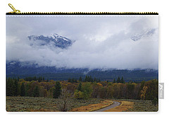 Carry-all Pouch featuring the photograph Changing Of The Season's by Broderick Delaney