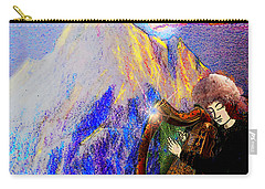 Carry-all Pouch featuring the painting Changing The Atmosphere by Anastasia Savage Ealy