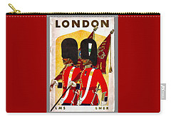 Changing The Guard London - 1937 Carry-all Pouch