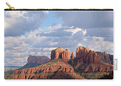 Carry-all Pouch featuring the photograph Changling Light - Cathedral Rock by Patricia Davidson