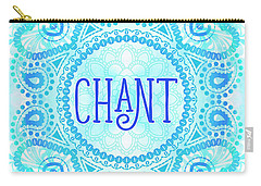Carry-all Pouch featuring the digital art Chant by Tammy Wetzel