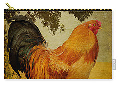 Chanticleer Carry-all Pouch by Lois Bryan