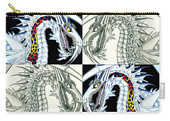 Chaos Dragon Fact Vs Fiction Carry-all Pouch by Shawn Dall