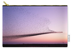 Chaos In Motion - Starling Murmuration Carry-all Pouch