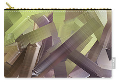 Chaos In The Library Abstract Carry-all Pouch