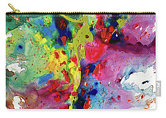 Chaotic Craziness Series 1984.032914 Carry-all Pouch by Kris Haas