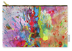 Chaotic Craziness Series 1988.033014 Carry-all Pouch by Kris Haas