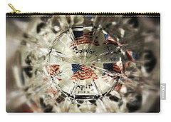 Carry-all Pouch featuring the photograph Chaotic Freedom by Robert Knight