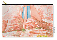Chapel In The Rock Carry-all Pouch