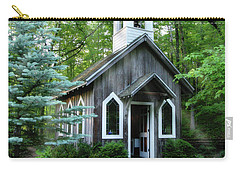 Chapel In The Woods Carry-all Pouch