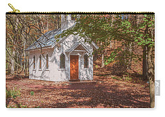 Chapel In Woods At Red Mill 3 Carry-all Pouch