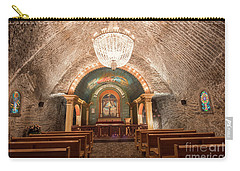Carry-all Pouch featuring the photograph Chapel  by Juli Scalzi