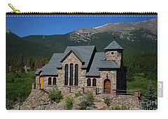 Chapel On The Rock Carry-all Pouch by John Roberts