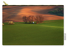 Carry-all Pouch featuring the photograph Chapel St Barbara. Moravia by Jenny Rainbow