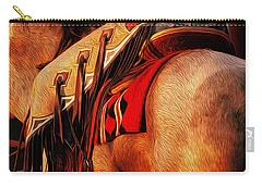Chaps Carry-all Pouch by Laddie Halupa