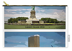 Chapter 11 Lady Liberty Carry-all Pouch by Joe  Palermo