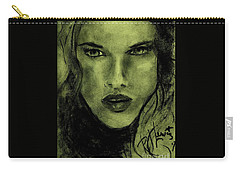 char-Carol Carry-all Pouch by P J Lewis