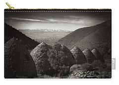 Charcoal Kilns  Carry-all Pouch by Hugh Smith