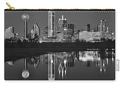 Charcoal Night In The Lone Star State Carry-all Pouch by Frozen in Time Fine Art Photography