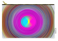 Charcoal Spiral Carry-all Pouch by Prakash Ghai