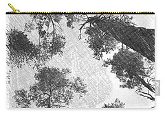 Charcoal Trees Carry-all Pouch