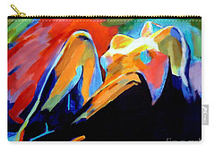 Charge Of The Soul Carry-all Pouch by Helena Wierzbicki