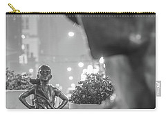 Charging Bull And Fearless Girl Nyc  Carry-all Pouch