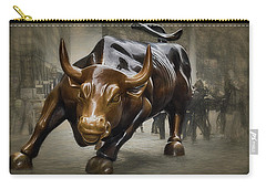 Charging Bull Carry-all Pouch