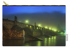 Charles Bridge Night In Prague, Czech Republic Carry-all Pouch