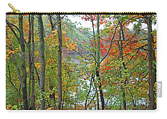 Charles River In Autumn Carry-all Pouch