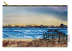 Charleston At Sunset Carry-all Pouch by Lil Taylor