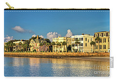 Charleston Battery Row Of Homes  Carry-all Pouch