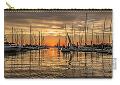 Charleston Harbor Marina Sunset Carry-all Pouch