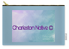 Charleston Native Text 1 Carry-all Pouch