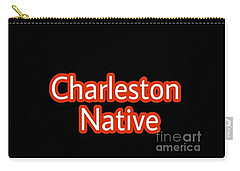 Charleston Native Text 2 Carry-all Pouch