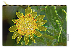 Charleston Neon Floral Carry-all Pouch