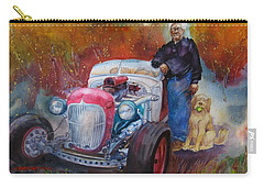 Charlie And Bella's Ride Carry-all Pouch