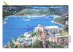 Charlotte Amalie Marriott Frenchmans Beach Resort St. Thomas Us Virgin Island Aerial Carry-all Pouch