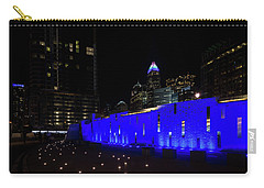 Charlotte, North Carolina From Romare Bearden Park Carry-all Pouch by Serge Skiba